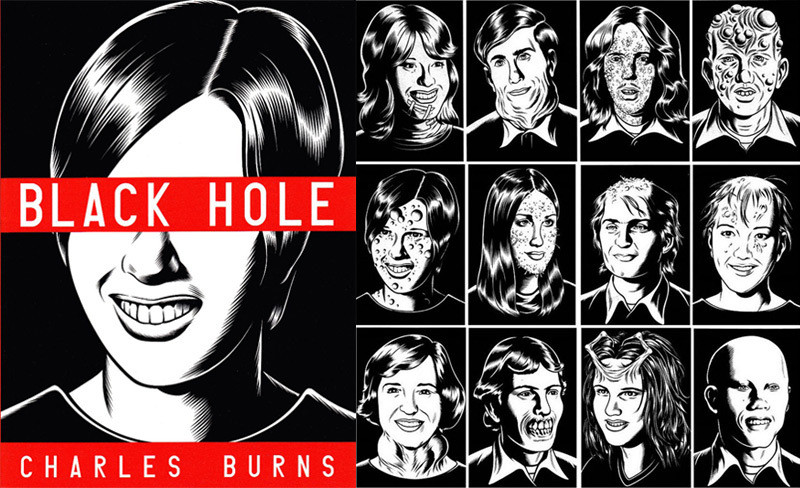 black hole charles burns cover - photo #18